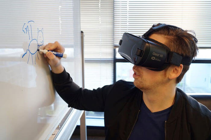 Workplace transformation with AR
